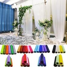 26 metros 29cm tule rolo sheer organza gaze tutu decoração do casamento cadeira diy faixas mesa corredor artesanato costura tecido artesanato