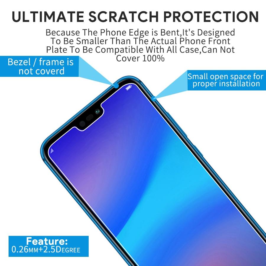 Für Huawei P20 Lite Glas P20 Pro Film Für Huawei P10 Lite Gehärtetem Glas P20 P10 P9 Lite 9H screen Protector Ehre 8 Lite Glas