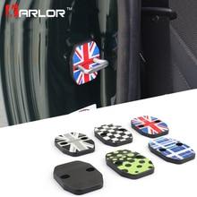 Couvercle de boucle de porte de voiture   2 pièces pour Mini Cooper F55 F56 porte de voiture résistant à la rouille, couvercle de boucle union jack style