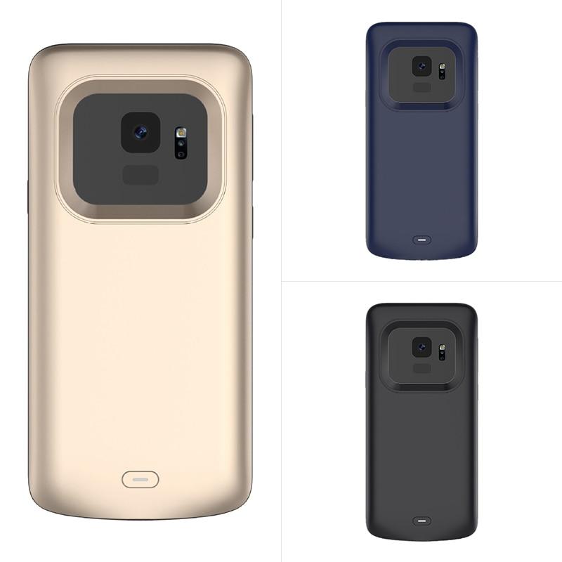 Funda para Samsung Galaxy S9/S9 plus, funda para cargador de batería externa, funda para cargador de batería S 9, funda de carga para batería extendida