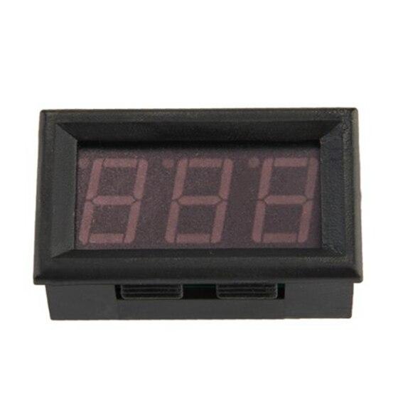 Mini amperemeter digital amperemeter led Panel meter 0-50 LED rote Tropfen Verschiffen