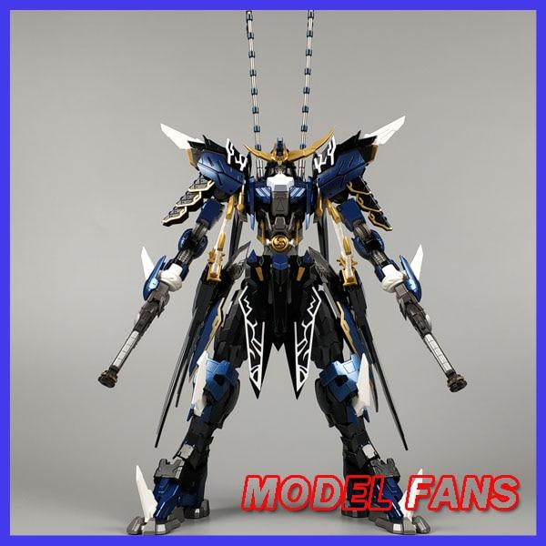 MODEL FANS IN-STOCK  Devil Hunter Blue Warrior mb Date Masamune GUNDAM VIDAR Alloy Framework action robot figure toy