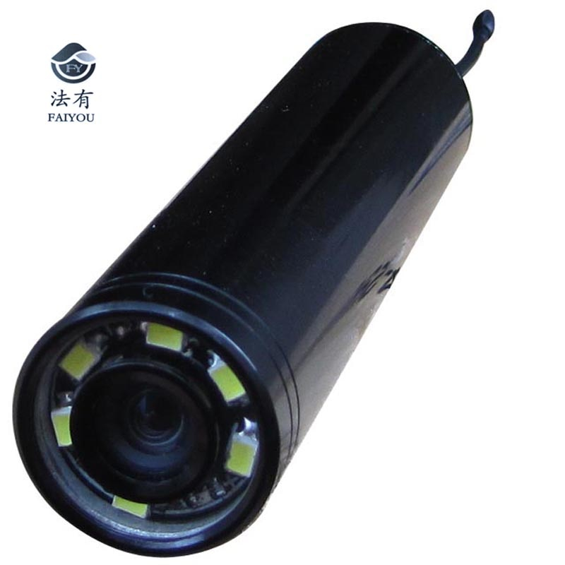 Wireless 2.4Ghz 8Chs Endoscope Camera 520TVL 90 Degree Lens Waterproof With 6 LED or IR lamps 940NM 850NM Three Choices for Pipe