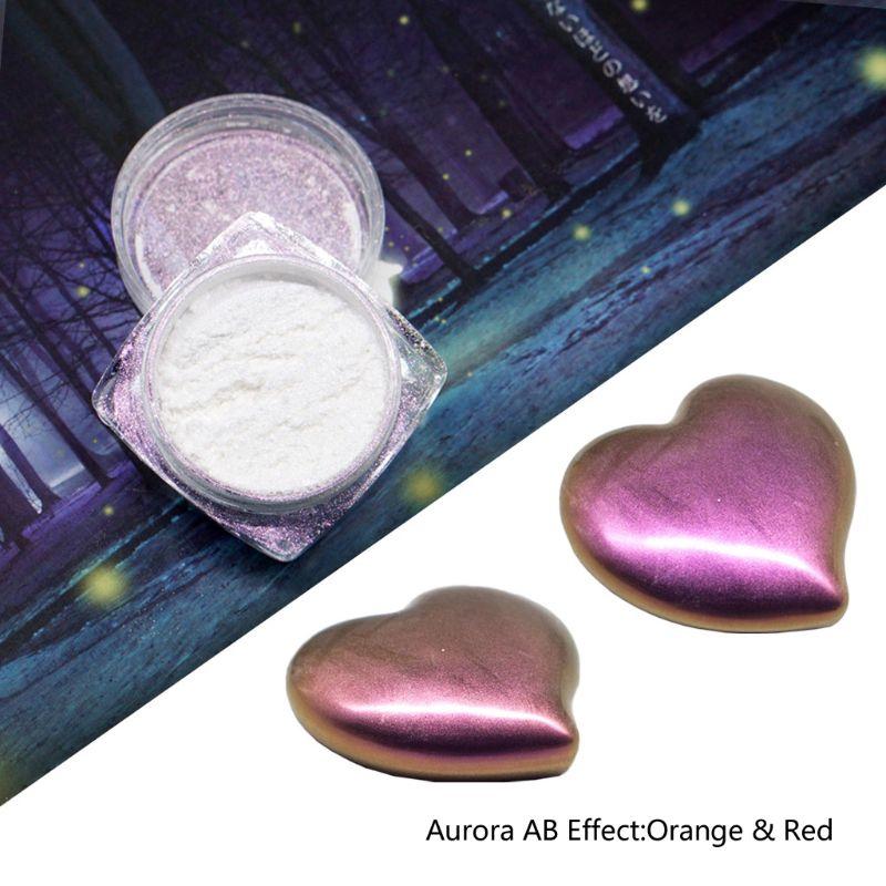 1 PC Mirror Pearl Powder Epoxy Resin Glitter Chameleon Pigment Resin Jewelry Making