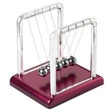 Boule de balance Newton   Fournitures éducatives scolaires, Science physique, accessoires de bureau pendule, jouet de bureau classique de auto-même, boule déquilibre