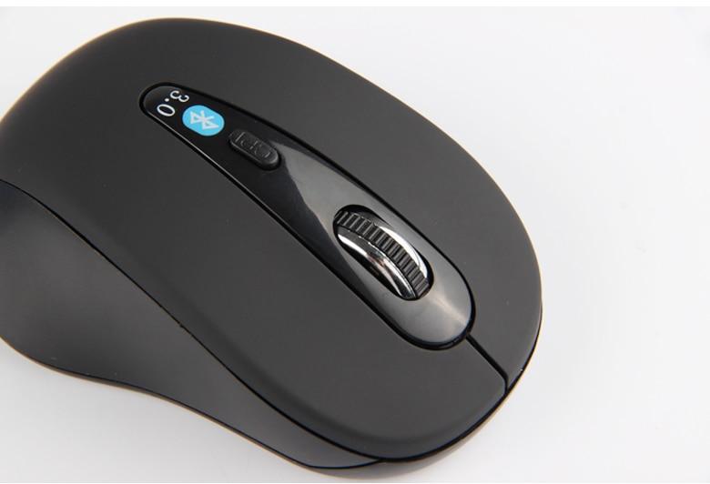 Ratón óptico Ratón Óptico inalámbrico Bluetooth 3,0 para juegos, ratón Mause para HUAWEI MateBook 13, portátil ultraslim