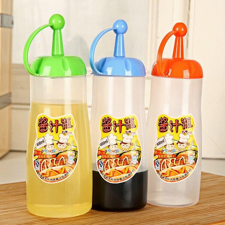 Kitchen oiler leakproof seal food vinegar pot seasoning sauce pot ketchup condiment bottles honey bottles