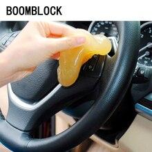 Boomblock carro tomada roda limpo gel adesivos para renault megane 2 3 espanador logan civic 2006-2011 accord acessórios ajuste