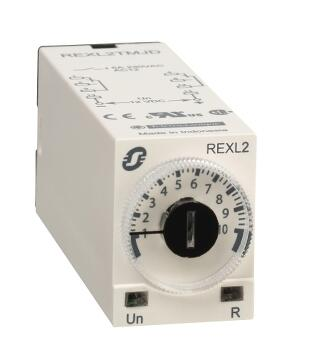 Модульное реле синхронизации REXL2TMP7, 5 A, 2 CO, 0,1 s .. 100 h, on-Delay, 230 V AC