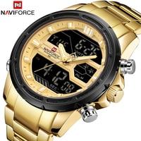 Naviforce Mens Watches Waterproof Quartz Watch Top Brand Luxury Men Casual Sport Watch male Relogio Masculino relojes hombre