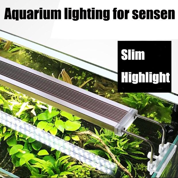 Sunsun ADE series Slim LED Aquarium Light Lighting plants Grow Light 220v/50hz aquatic plant lighting