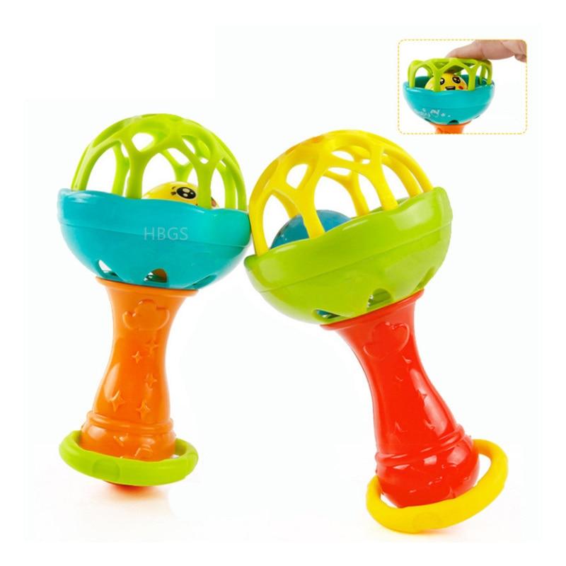 Детские погремушки, мобильные телефоны, фу ny игрушки, интеллект, захватывающие десны, пластиковые погремушки для рук, детские игрушки, подар...