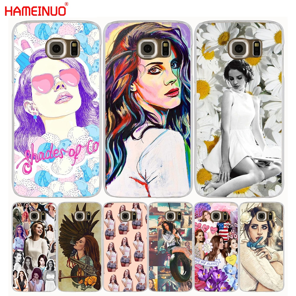 HAMEINUO NEW Lana del Rey cell phone case cover for Samsung Galaxy S7 edge PLUS S8 S6 S5 S4 S3 MINI
