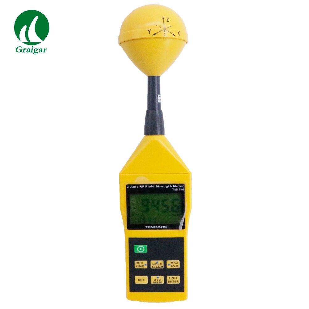TM-196 高精度 3 軸の Rf 電界強度計 EMF テスター測定範囲に 38mv 11/m