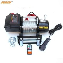 JEELY 12V 6000LB Automobile Electric Winch,ATV/UTV/4X4/4WD Car winch
