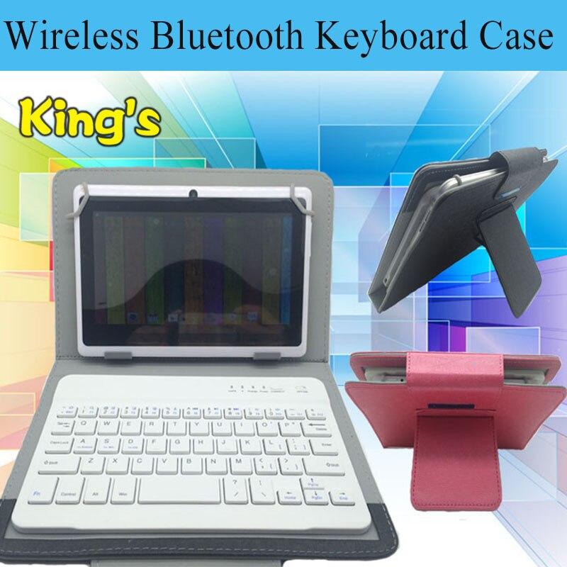 Универсальный чехол для клавиатуры на локальном языке с Bluetooth для Huawei MediaPad T3 (KOB-L09) 8 дюймов планшет PU кожаный чехол для клавиатуры и 4 подарка