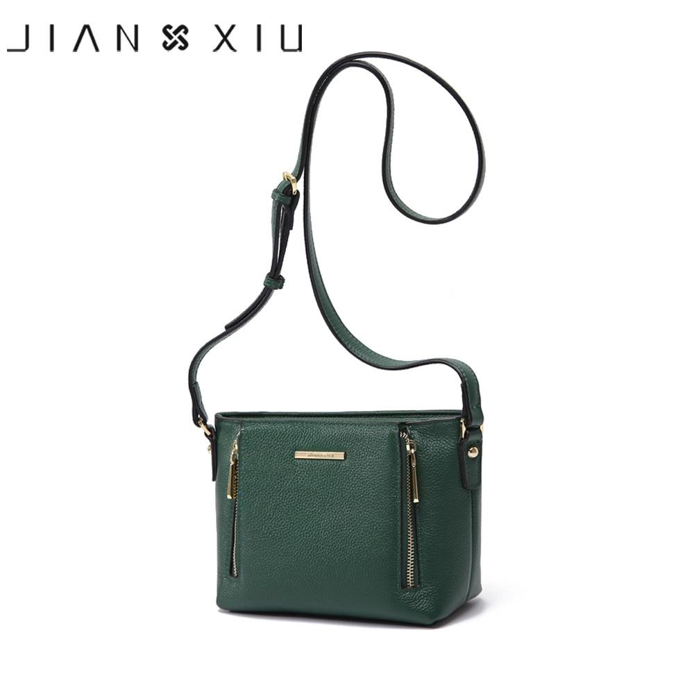 JIANXIU-حقائب جلدية أصلية ذات علامة تجارية ، حقيبة كتف صغيرة للنساء ، 2019