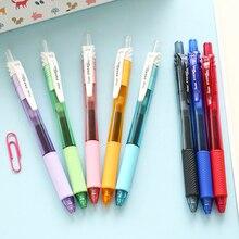 5 pièces WUMEI Le Japon Importe Pentel BLN105 Stylo Gel Stylo Transparent Couleur Signature Stylo