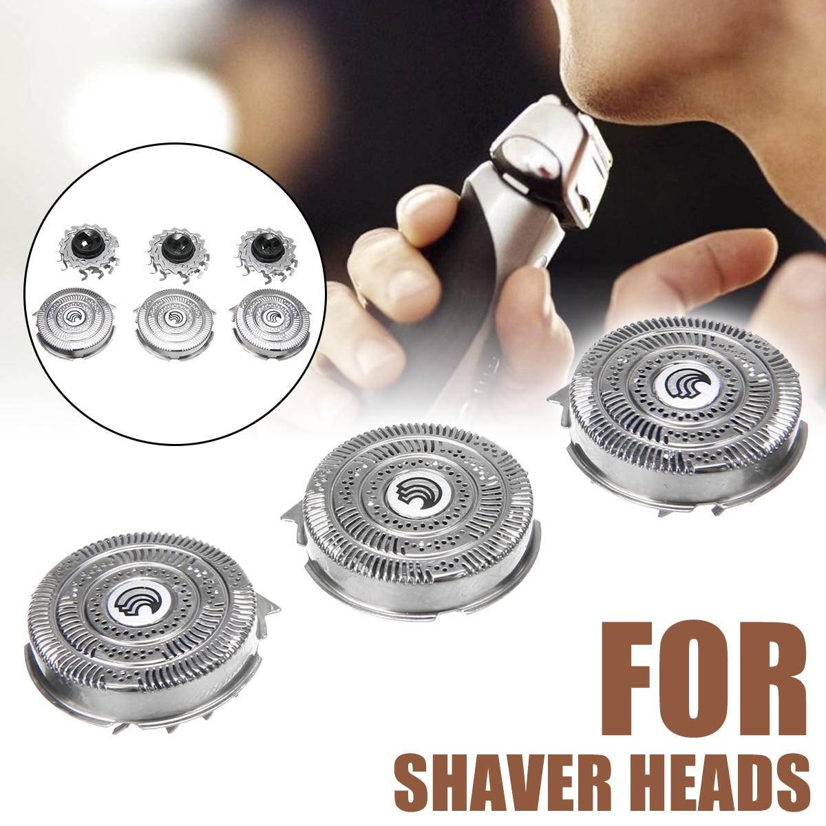 3 uds cabezales de afeitado de repuesto cuchillas para SpeedXL HQ9 cuchilla de afeitar de seguridad hoja de afeitar
