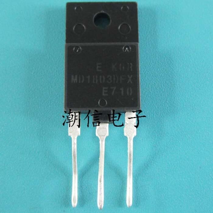 10 шт. MD1803DFX 1803DFX TO-3PF 1500 В 10A