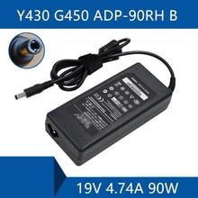Laptop AC Adapter DC Lader Connector Poort Kabel Voor lenovo Y430 G450 ADP-90RH B