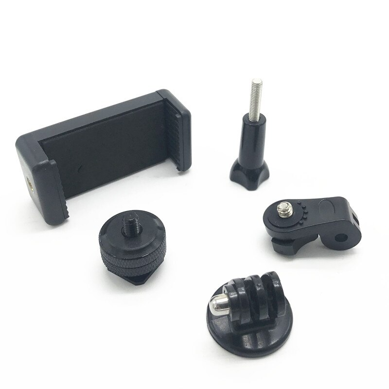Hot Shoe Kit Include Mount Adapter Universal Phone Holder Thumbscrew for Attaching Phone or GoPro Go Pro Hero on DSLR