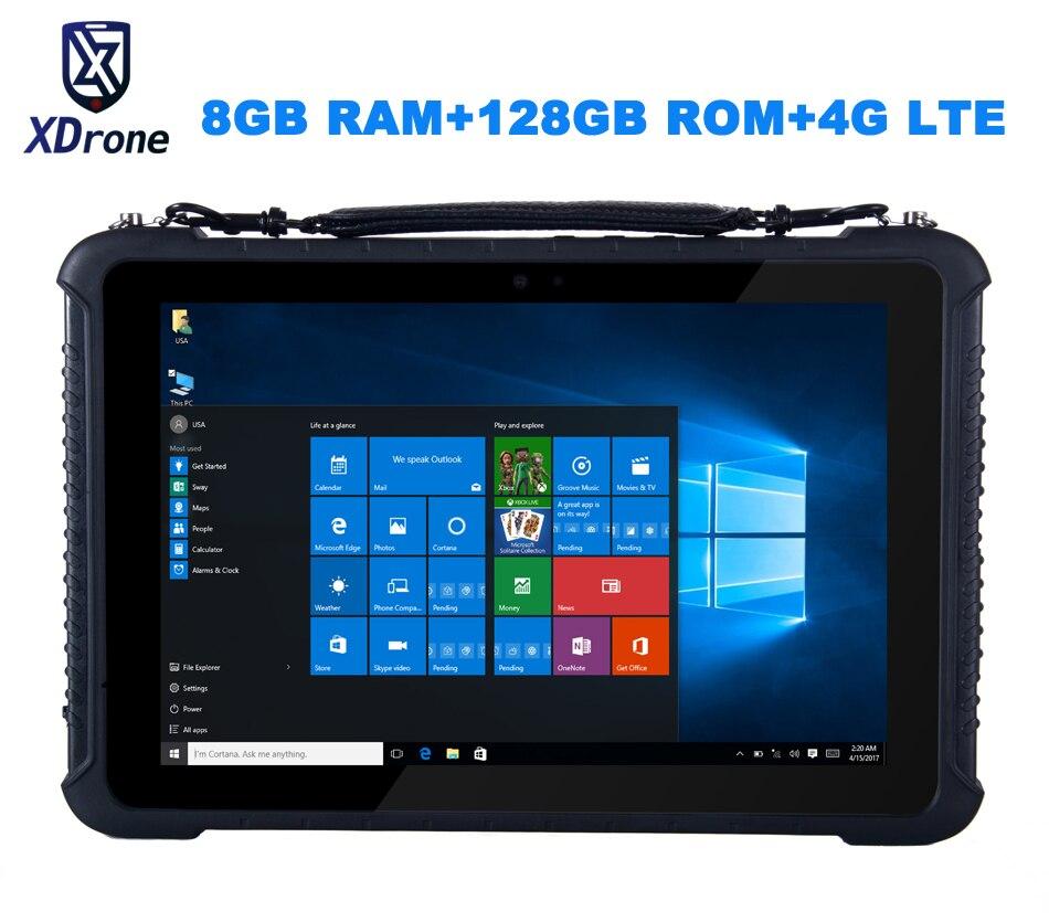 """Original K16T robusto Windows diagnóstico Tablet PC impermeable Industrial ordenador M3-6Y30 8GB RAM 128GB ROM 10,1 """"de alta precisión"""