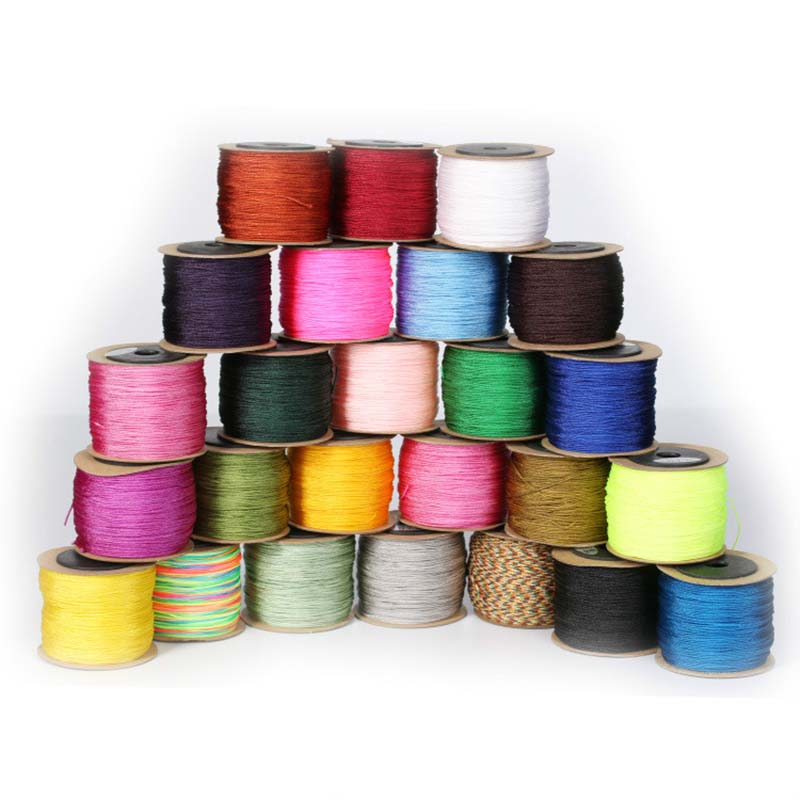 Wholesale 100m 0.8mm Thread Woven Wire Red Rope Jewelry Line for DIY Necklaces Bracelets Making Jewelry Findings