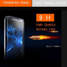 Note2 Tempered Glass Screen Protector Film for Samsung Galaxy N7100 Note II 2 Front Screen Protectiv