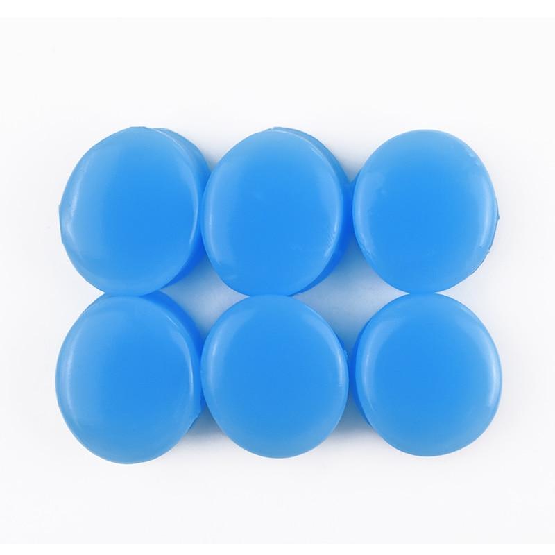 Tapones de silicona antiruido para los oídos para dormir, 6 uds., herramientas protectoras de aislamiento acústico para los oídos, tapones de oído de seguridad silenciosos para el aprendizaje del trabajo