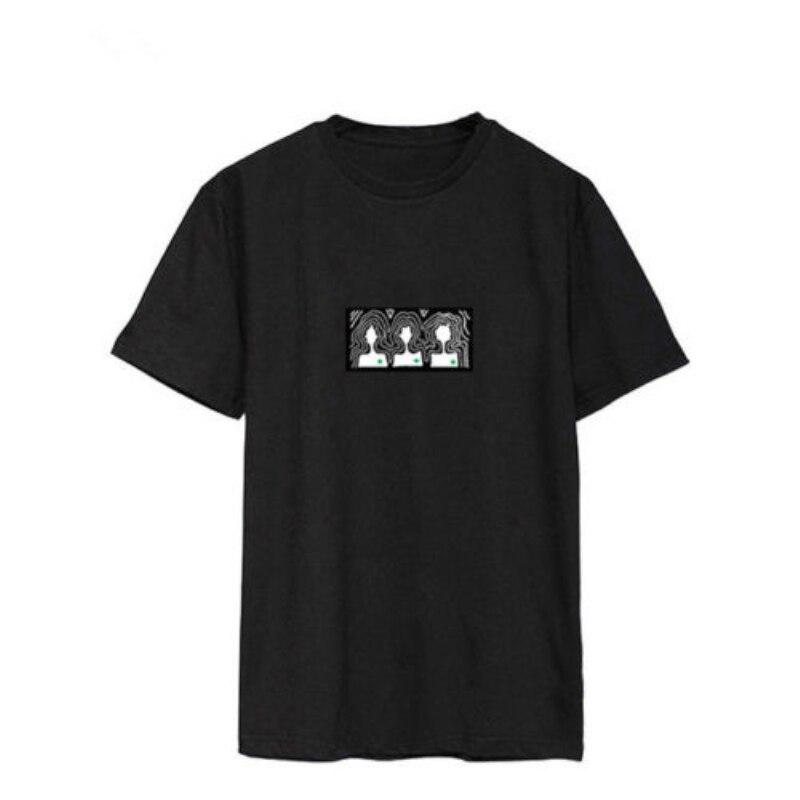 Mainlead Korean IDol Fashion KPOP WINNER T-shirt Seung Hoon Tee Short Sleeve blusas