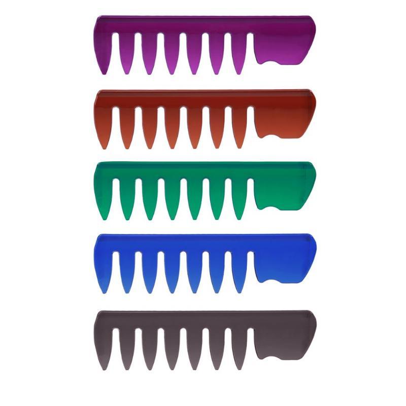 Peine de masaje de PVC, peine de dientes grandes, peine suave, Mini peine de peluquería, peine con dientes anchos, peine de plástico para Herramienta de Peinado