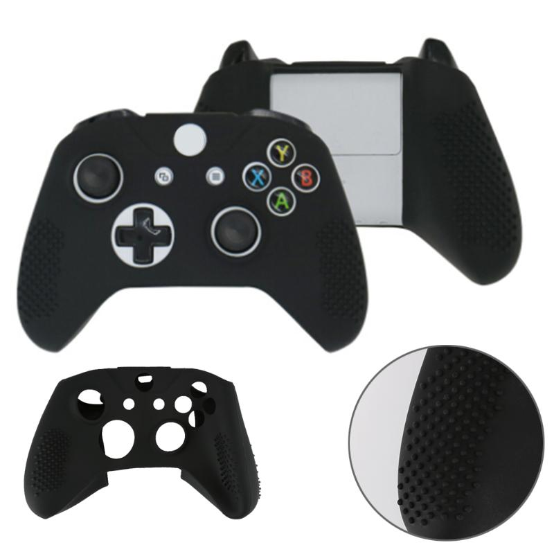 Silicone Rubber Skin Game Console Protective Case Light weight Gamepad Protecting Cover for Microsoft Xbox One S Controller
