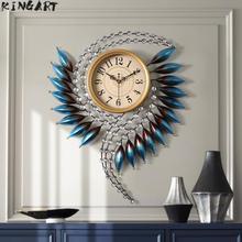 Grande horloge murale 3d Design moderne grande horloge murale ornement mural Vintage grande horloge pour décor à la maison montres murales décor à la maison