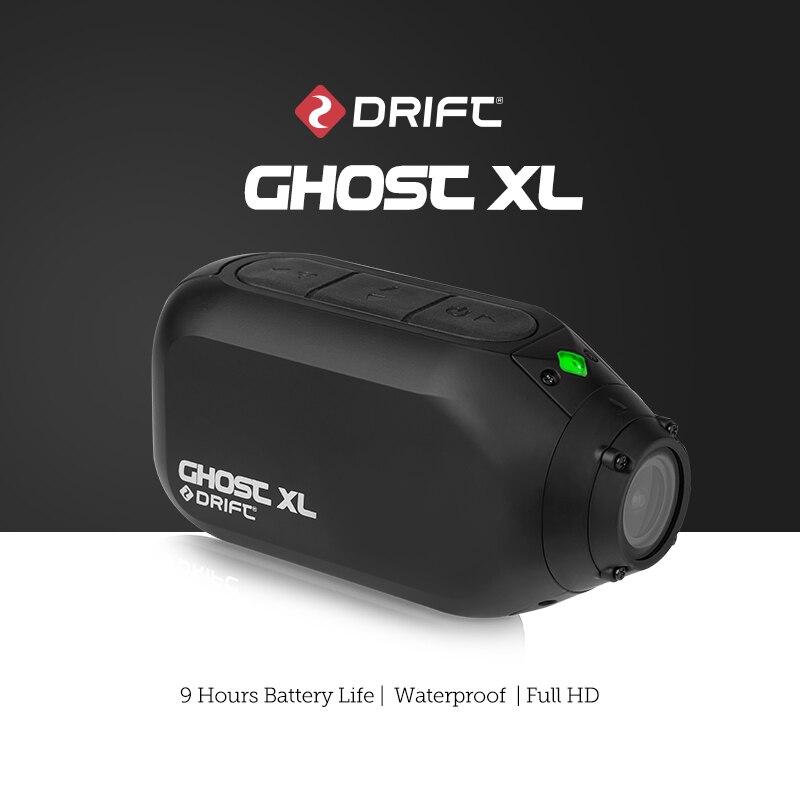 Спортивная Экшн-камера Drift Ghost XL Plus, 1080P, Wi-Fi, видео