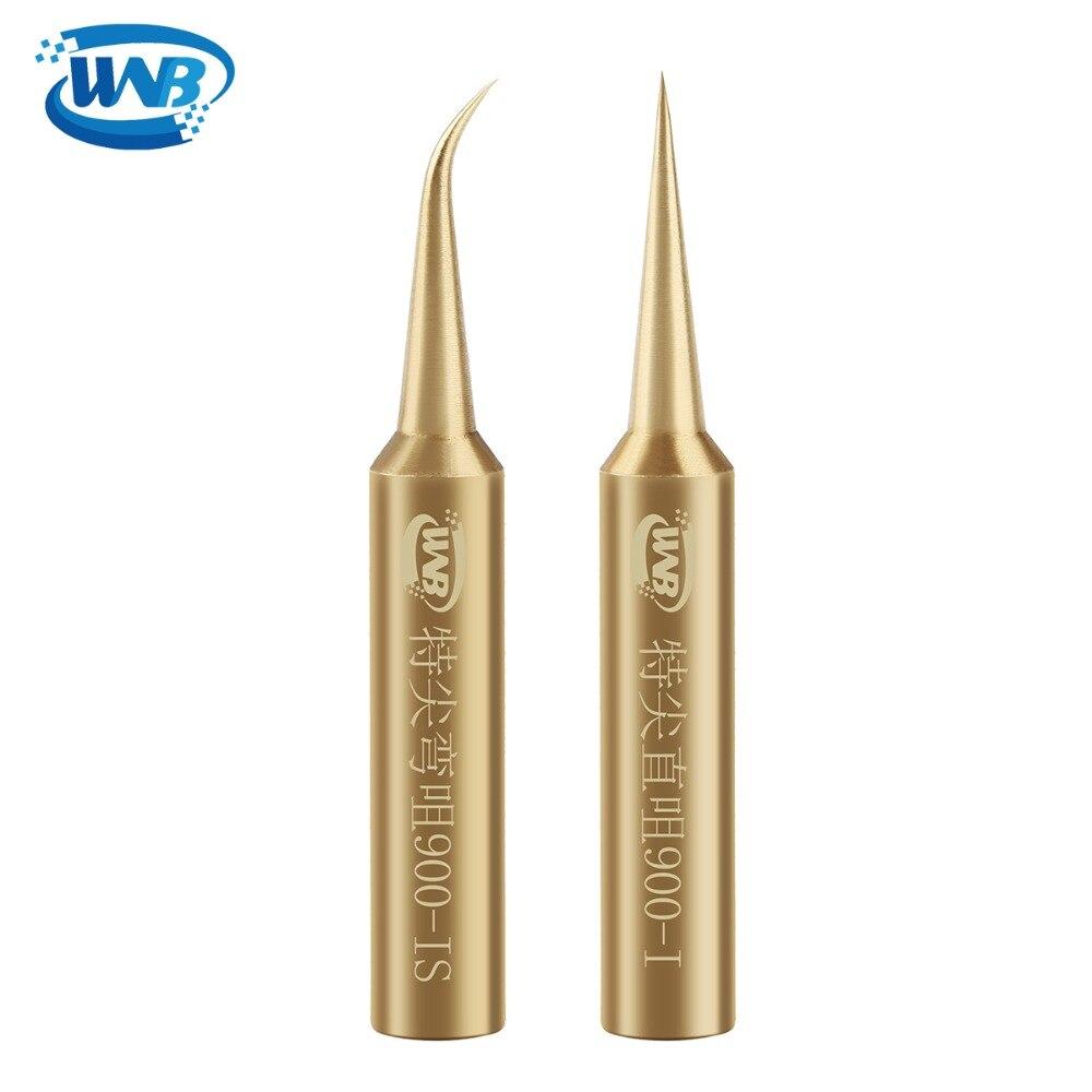 WNB Oxygen-free Copper Soldering Iron Tip Constant-temperature 900M-T Solder Tips Welding Tip 936/937 Soldering Station Tool Kit