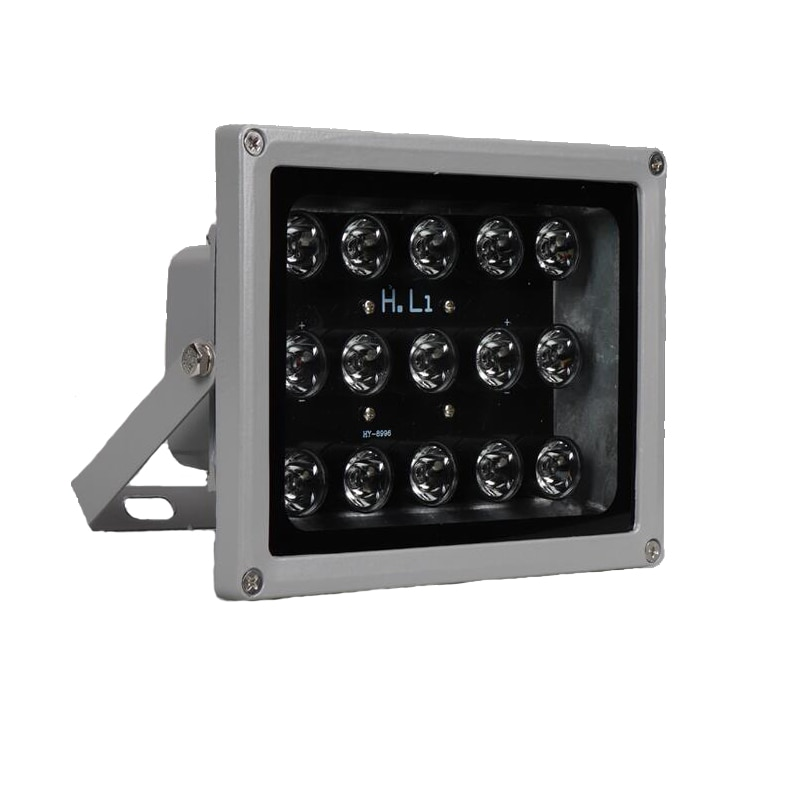 100m IR distance 15 Leds IR Illuminators IR Infrared Light LED CCTV Camera Night-vision IR Fill Light for CCTV Security Camera