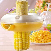 give your best Kitchen Gadgets Accessories Tool Corn Kerneler Grain Cob Thresher Stripper Peeler Remover Fruit Vegetable Tools