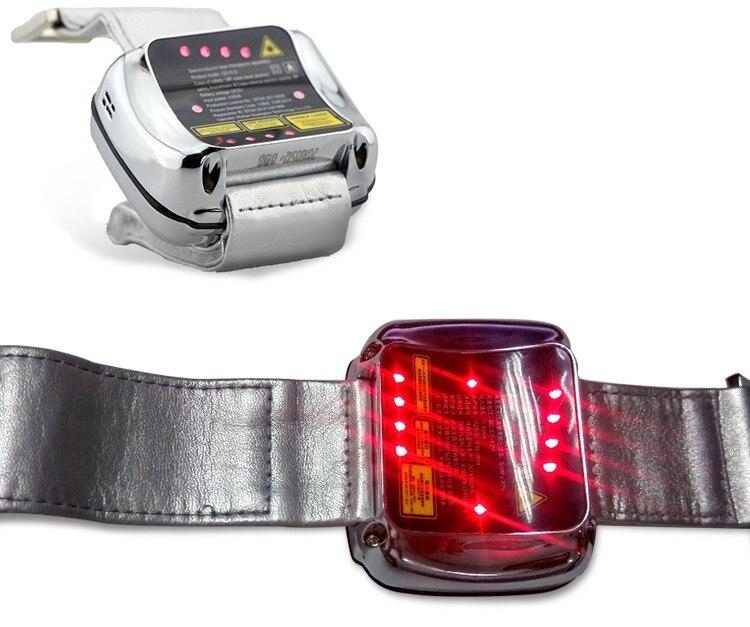 Reloj de pulsera Lastek para terapia física láser de bajo nivel para presión arterial alta y tratamiento de alta presión sanguínea