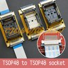Test programowy spawanie SMD TSOP48 do TSOP48 gniazdo testowe skok = 0.5mm TSOP48 gniazdo testowe On line