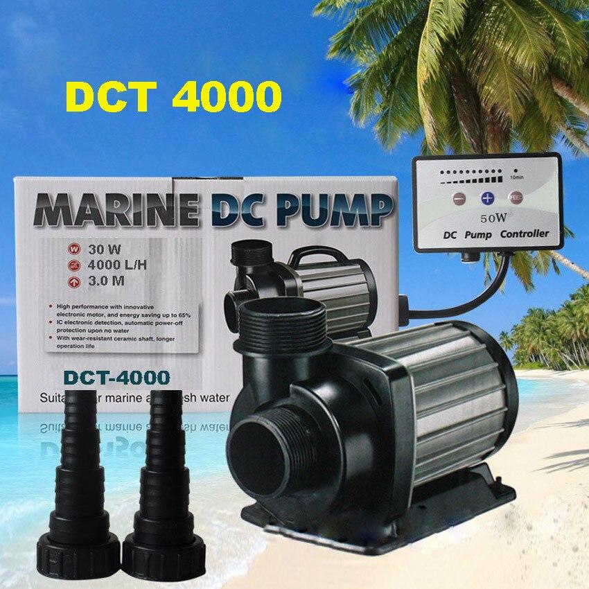 1pc DCT-4000 30W serie flujo variable bomba para acuario DC agua refrescante Marina controlable sentado bomba de agua