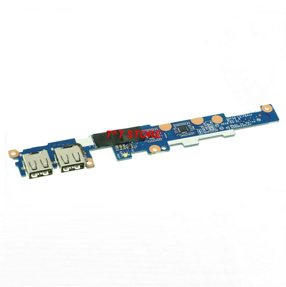 Marca genuina para HP PAVILION 15-CX0058WM 15-CX placa USB serie DPF50 LS-F841P 4350KX32L01 prueba bien Envío gratuito