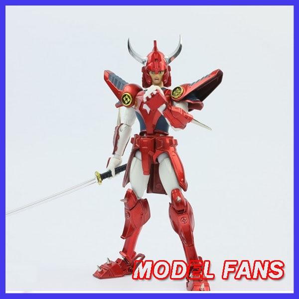 MODEL FANS INSTOCK DT model Ronin Warriors Yoroiden Samurai Trooper Ryo Sanada Metal Cloth Armor Plus