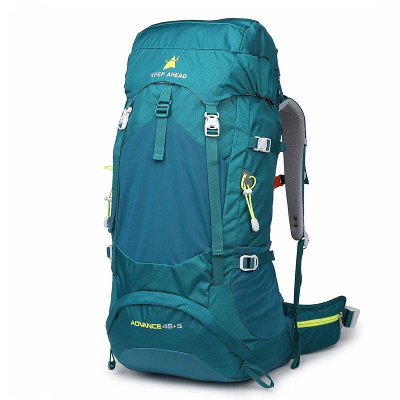 Mochila de 45 l para senderismo, mochila de montaña, mochila resistente al agua, mochila multifunción para acampada, escalada profesional