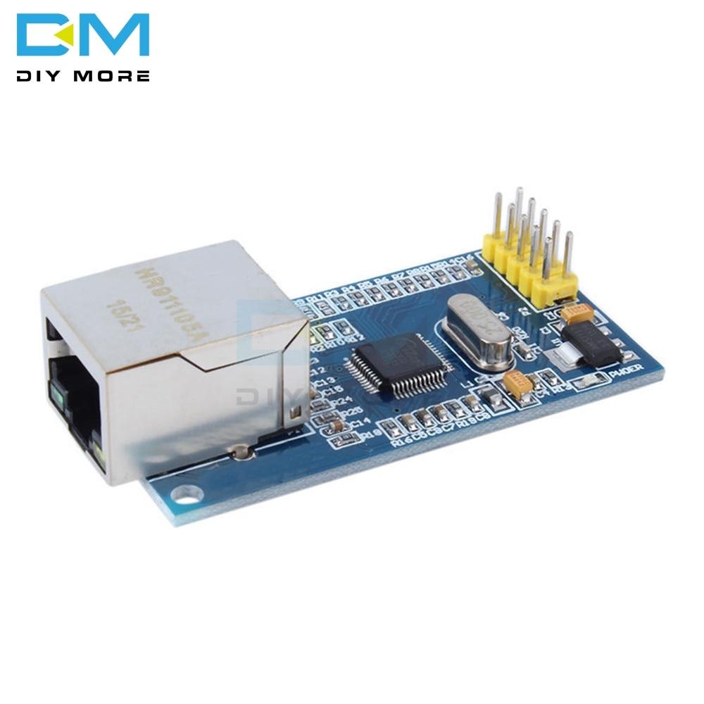 Для Arduino W5500 Ethernet сетевые модули для Arduino TCP IP 51 STM32 SPI интерфейсная плата 3,3 V 5V I/O MCU