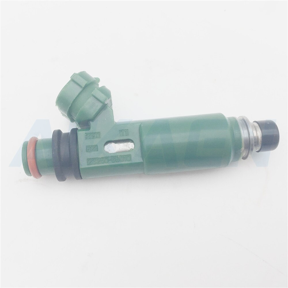6 unids/lote Original para Toyota Land Cruiser 100 1999-2009 1FZFE 4.5L inyector de combustible 23209-66010, 23209, 66010, 23250-66010, 23250 de 66010