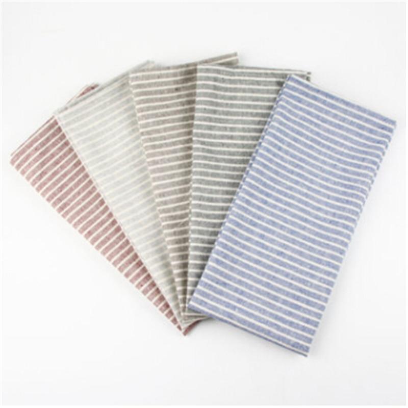 De algodón servilletas de lino mantel para aislamiento del calor mat mesa de comedor mat cómodo servilleta tela manteles de mesa de fondo