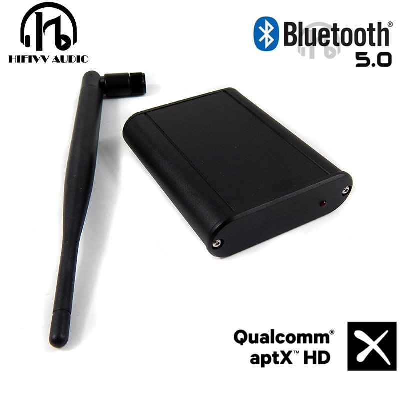 Hifi audio en casa CSR8675 Bluetooth 5,0 recibir DAC amplificador coaxial fibra óptica salida interfaz Digital