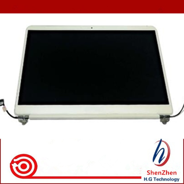 "Envío Gratis 15 ""pantalla LCD de ordenador portátil con cubierta toda la asamblea para Samsung Notebook 9 NP900X5N NP900X5L FHD de color plata"