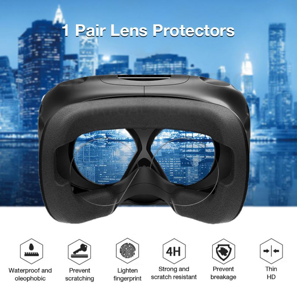 1 par de lentes Protector HD película transparente para Oculus Quest Oculus Rift S Oculus Go lente de realidad Virtual